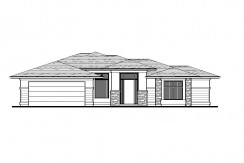 5000 PAINTED TURTLE LANE – MULBERRY FLOORPLAN (LOT 1-3C)