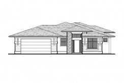 5008 PAINTED TURTLE LANE – HAWTHORNE FLOORPLAN (LOT 3-3C)