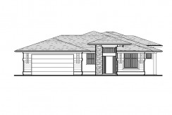5020 PAINTED TURTLE LANE – HAWTHORNE FLOORPLAN (LOT 6-3C)
